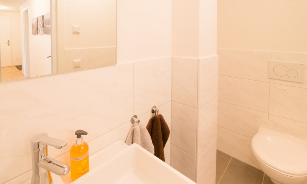 Ferienwohnung Staufner Domizil Oberstaufen - Gäste WC